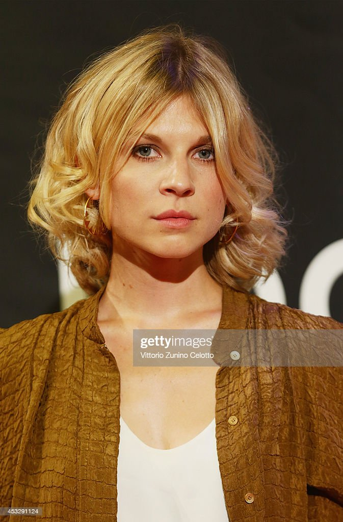 Actress Clemence Poesy attends Lucy Premiere during the 67th Locarno Film Festival on August 6, 2014 in Locarno, Switzerland.