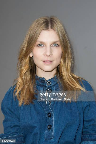 Actress Clemence Poesy attends the Chloe show as part of the Paris Fashion Week Womenswear Fall/Winter 2017/2018 on March 2 2017 in Paris France