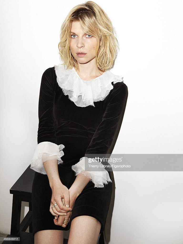 Clemence Poesy, Madame Figaro, August 1, 2014