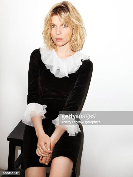 110170002 Actress Clemence Poesy is photographed for Madame Figaro on June 1 2014 in Paris France Dress rings Makeup by Dior PUBLISHED IMAGE CREDIT...