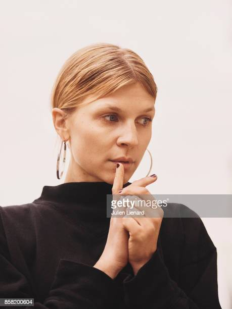 Actress Clemence Poesy is photographed for Self Assignment on September 29 2017 in Dinard France
