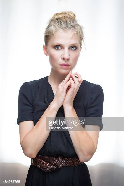 Actress Clemence Poesy is photographed for Self Assignment on August 7 2015 in Locarno Switzerland
