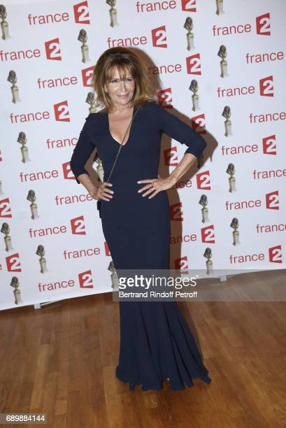 Actress Clementine Celarie attends 'La Nuit des Molieres 2017' at Folies Bergeres on May 29 2017 in Paris France