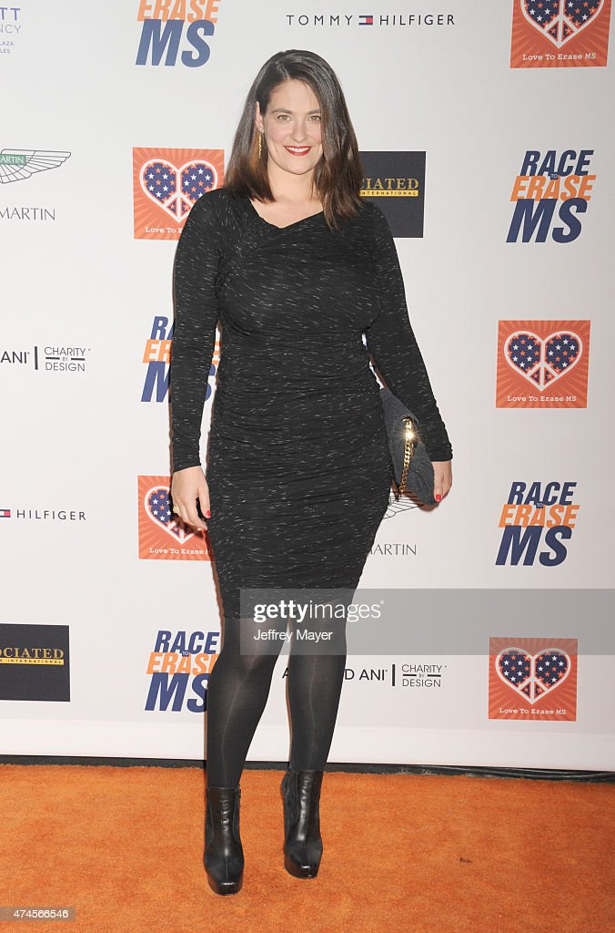 Actress Clementine Ford arrives at the 22nd Annual Race To Erase MS at the Hyatt Regency Century Plaza on April 24, 2015 in Century City, California.