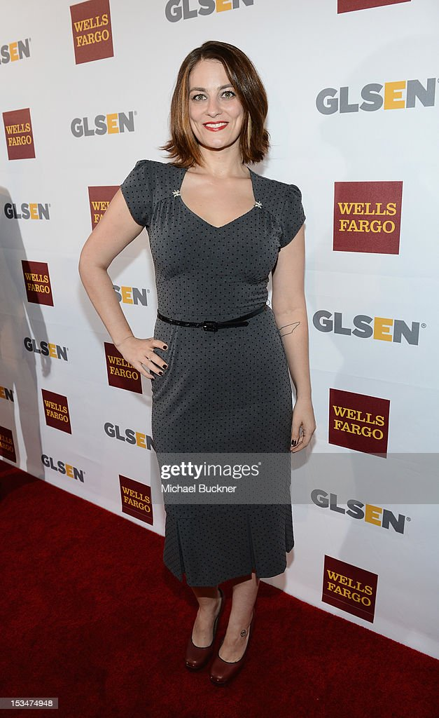 Actress Clementine Ford arrives at the 8th Annual GLSEN Respect Awards held at Beverly Hills Hotel on October 5, 2012 in Beverly Hills, California.