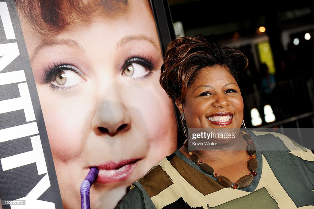 Actress Cleo King arrives at the premiere of Universal Pictures' 'Identity Thief' at the Village Theatre on February 4, 2013 in Los Angeles, California.