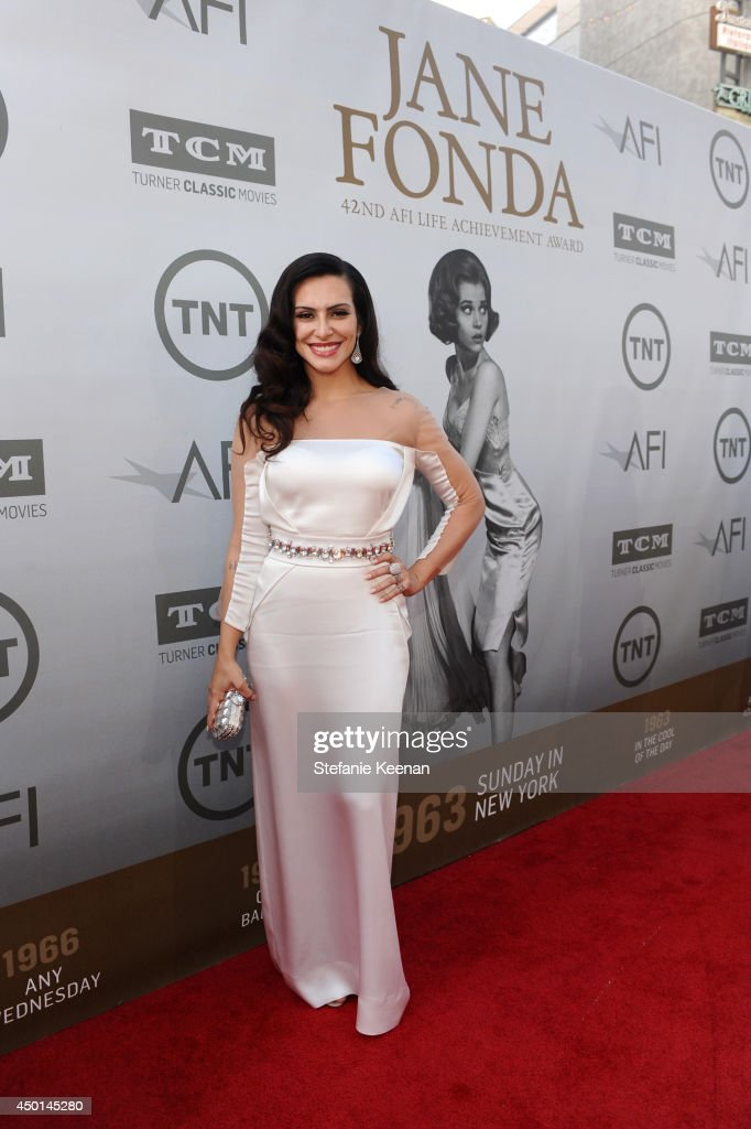 Actress Cleo Pires attends the 2014 AFI Life Achievement Award: A Tribute to Jane Fonda at the Dolby Theatre on June 5, 2014 in Hollywood, California. Tribute show airing Saturday, June 14, 2014 at 9pm ET/PT on TNT.