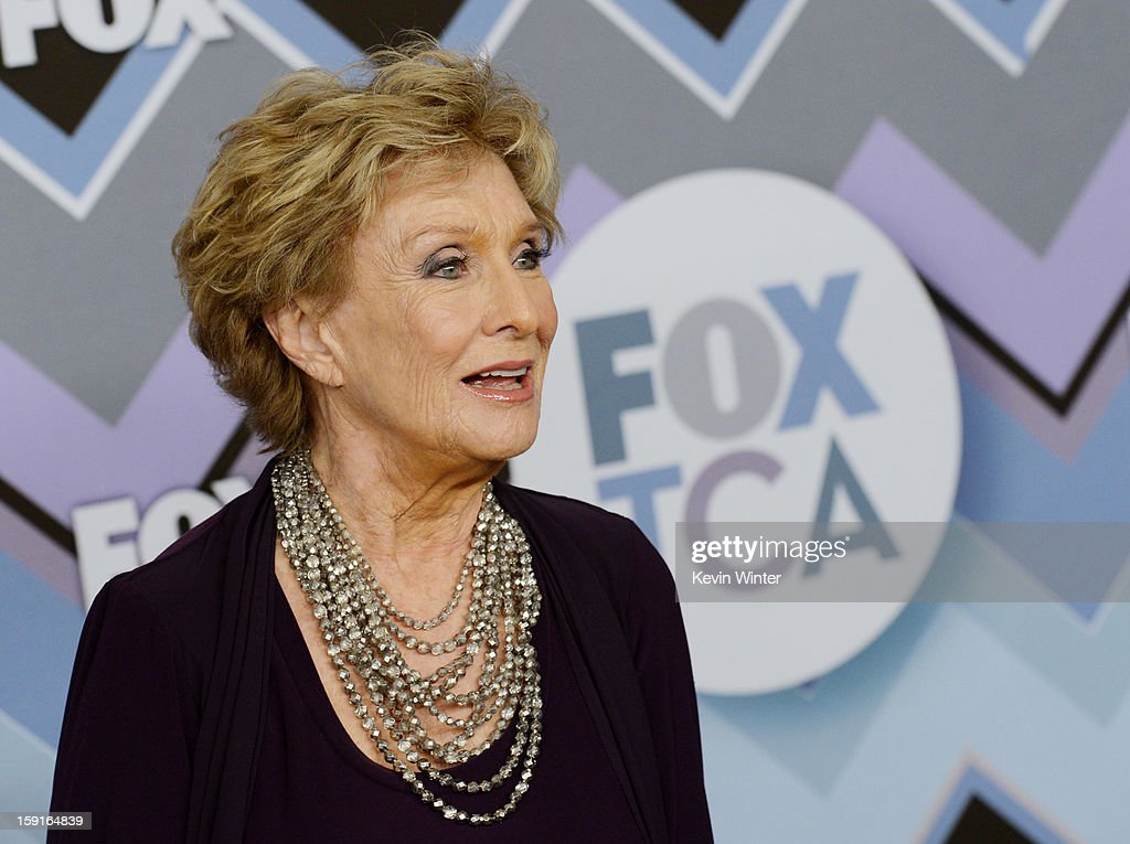 Actress <a gi-track='captionPersonalityLinkClicked' href=/galleries/search?phrase=Cloris+Leachman&family=editorial&specificpeople=204686 ng-click='$event.stopPropagation()'>Cloris Leachman</a> arrives at the FOX All-Star Party at the Langham Huntington Hotel on January 8, 2013 in Pasadena, California.