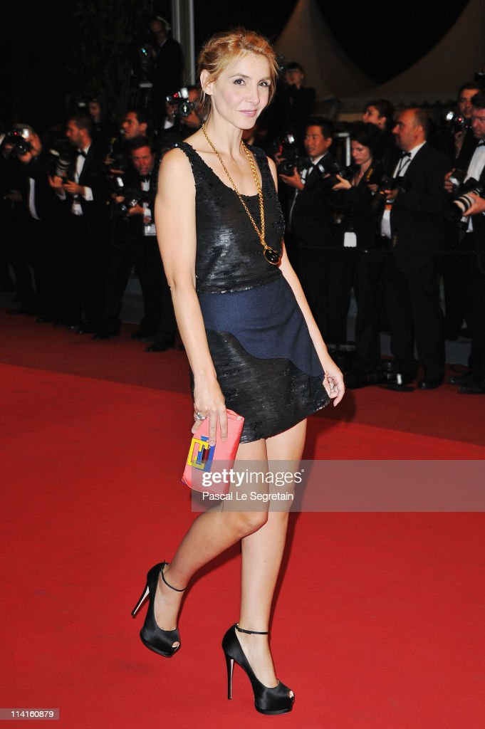Actress Clotilde Courau attends the 'Polisse' premiere at the Palais des Festivals during the 64th Cannes Film Festival on May 13, 2011 in Cannes, France.