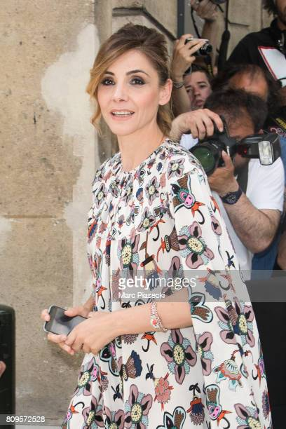 Actress Clotilde Courau attends the Valentino Haute Couture Fall/Winter 20172018 show as part of Paris Fashion Week on July 5 2017 in Paris France