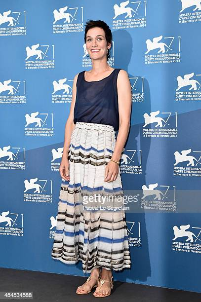 Actress Clotilde Hesme attends the 'Le Dernier Coup De Marteau' Photocall during the 71st Venice Film Festival on September 3 2014 in Venice Italy
