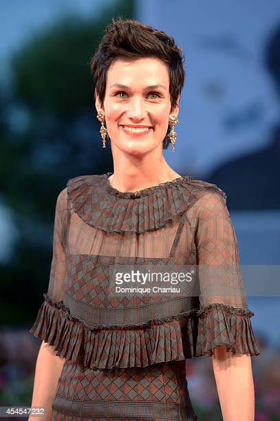 Actress Clotilde Hesme attends the 'Le Dernier Coup De Marteau' Premiere during the 71st Venice Film Festival on September 3 2014 in Venice Italy