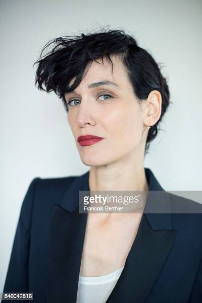 Actress Clotilde Hesme is photographed on September 9 2017 in Deauville France