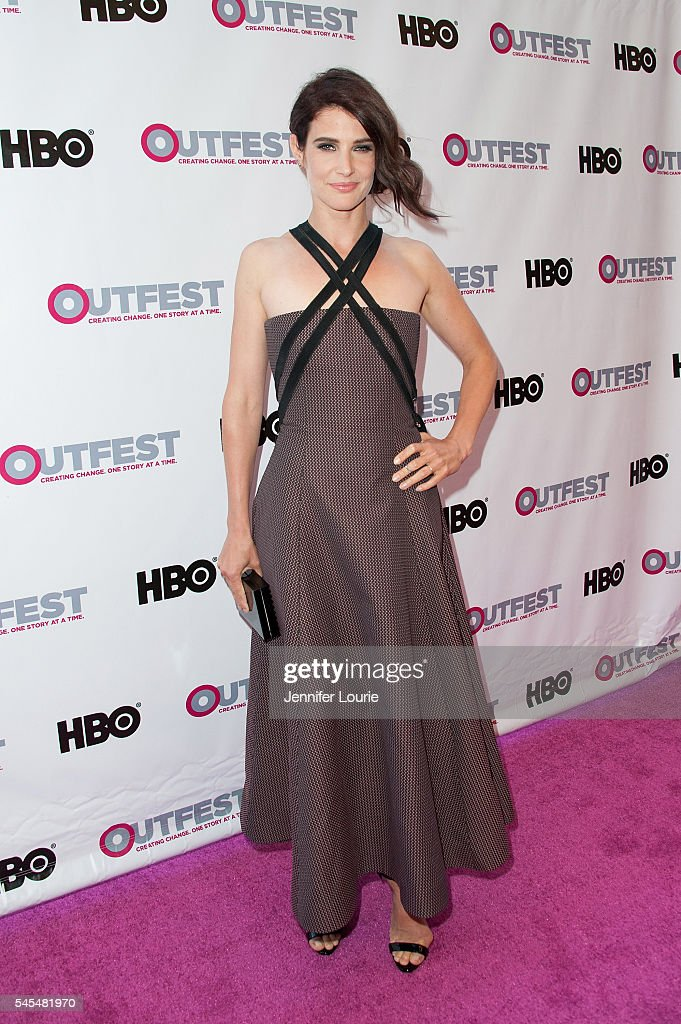 Actress Cobie Smulders arrives 2016 Outfest Los Angeles LGBT Film Festival Opening Night Gala of 'The Intervention' at Orpheum Theatre on July 7 2016...