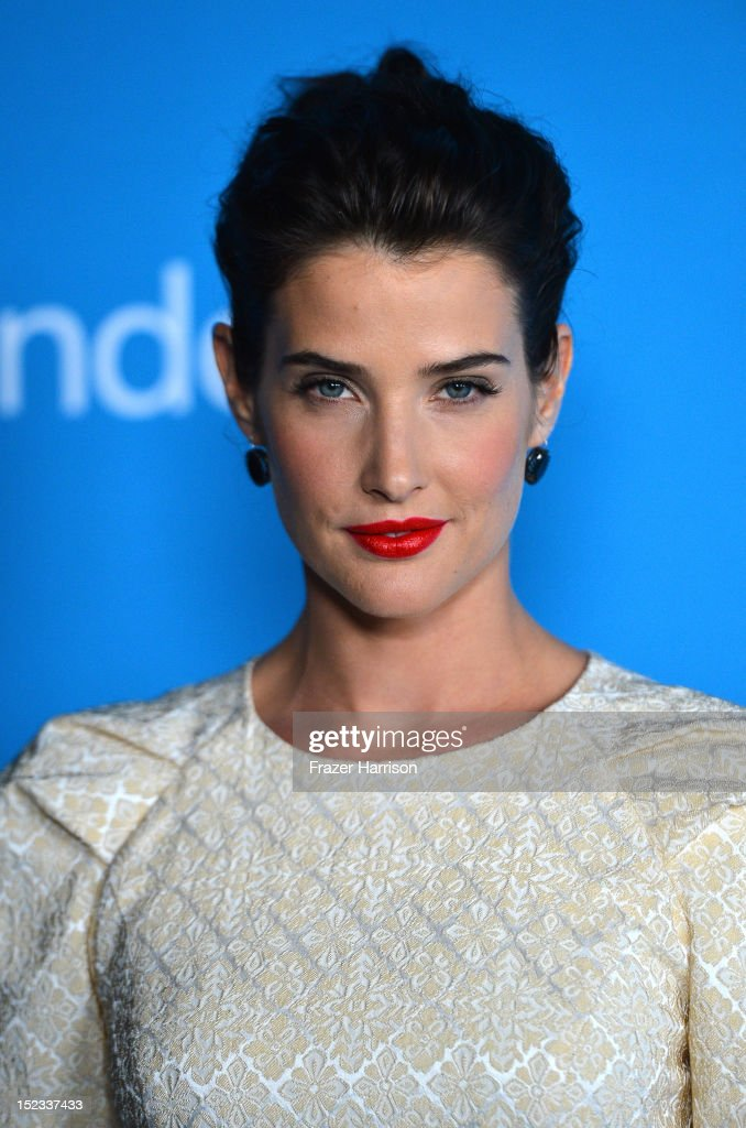Actress Cobie Smulders arrives at CBS 2012 fall premiere party held at Greystone Manor Supperclub on September 18, 2012 in West Hollywood, California.