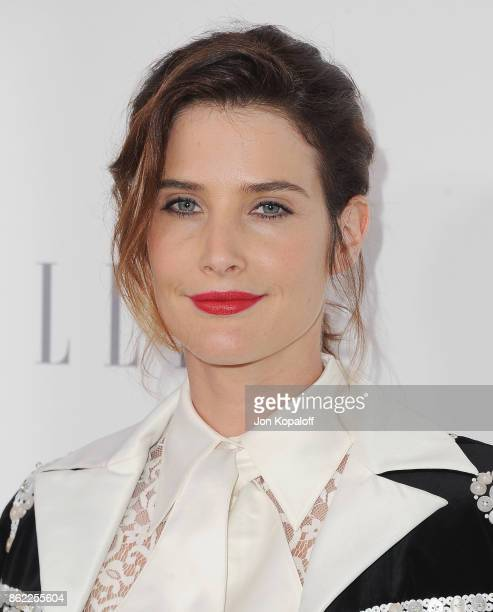 Actress Cobie Smulders arrives at ELLE's 24th Annual Women in Hollywood Celebration at Four Seasons Hotel Los Angeles at Beverly Hills on October 16...