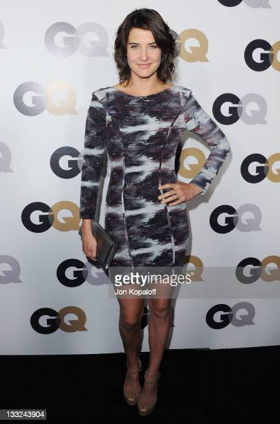 Actress Cobie Smulders arrives at the 16th Annual GQ 'Men Of The Year' Celebration at Chateau Marmont on November 17 2011 in Los Angeles California