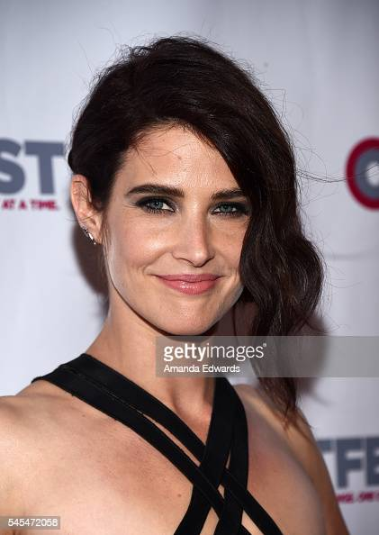 Actress Cobie Smulders arrives at the 2016 Outfest Los Angeles LGBT Film Festival Opening Night Gala of 'The Intervention' at the Orpheum Theatre on...