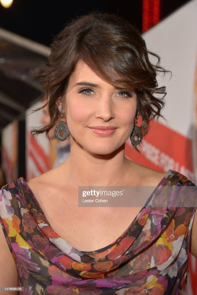 Actress Cobie Smulders arrives at the 'American Reunion' Los Angeles Premiere March 19 2012 in Hollywood California