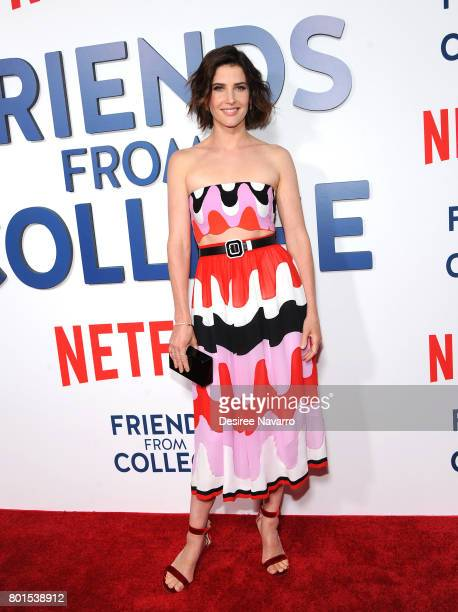 Actress Cobie Smulders attends 'Friends From College' New York Premiere at AMC 34th Street on June 26 2017 in New York City