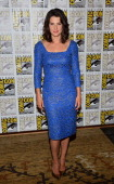 Actress Cobie Smulders attends Marvel's 'Captain America The Winter Soldier' during ComicCon International 2013 at the Hilton San Diego Bayfront...