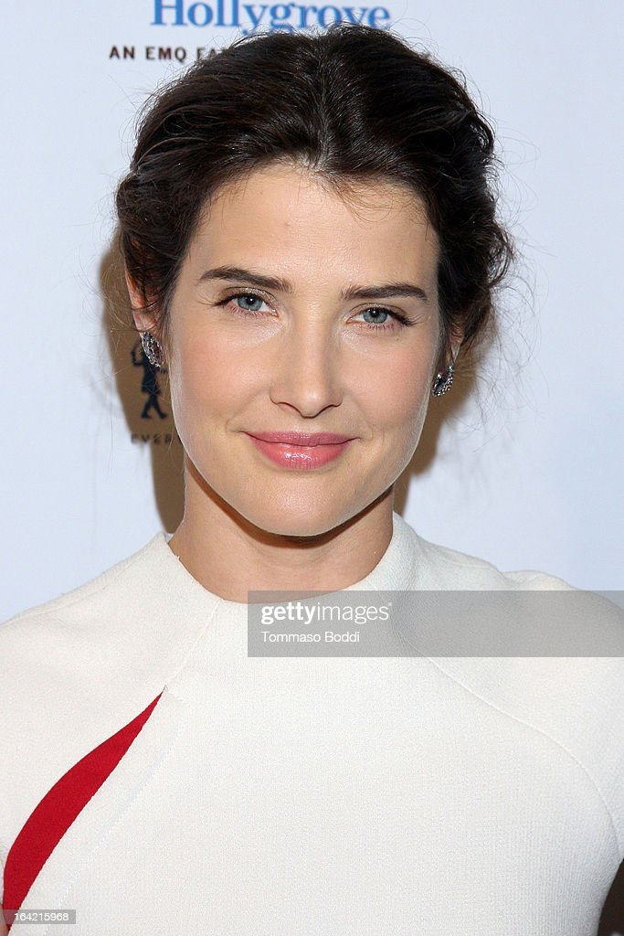 Actress Cobie Smulders attends the 1st Annual Norma Jean Gala held at the TCL Chinese Theatre on March 20, 2013 in Hollywood, California.
