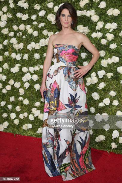 Actress Cobie Smulders attends the 2017 Tony Awards at Radio City Music Hall on June 11 2017 in New York City