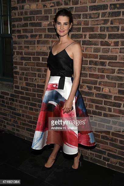 Actress Cobie Smulders attends the after party for Magnolia Pictures' 'Results' premiere hosted by The Cinema Society with Women's Health and FIJI...