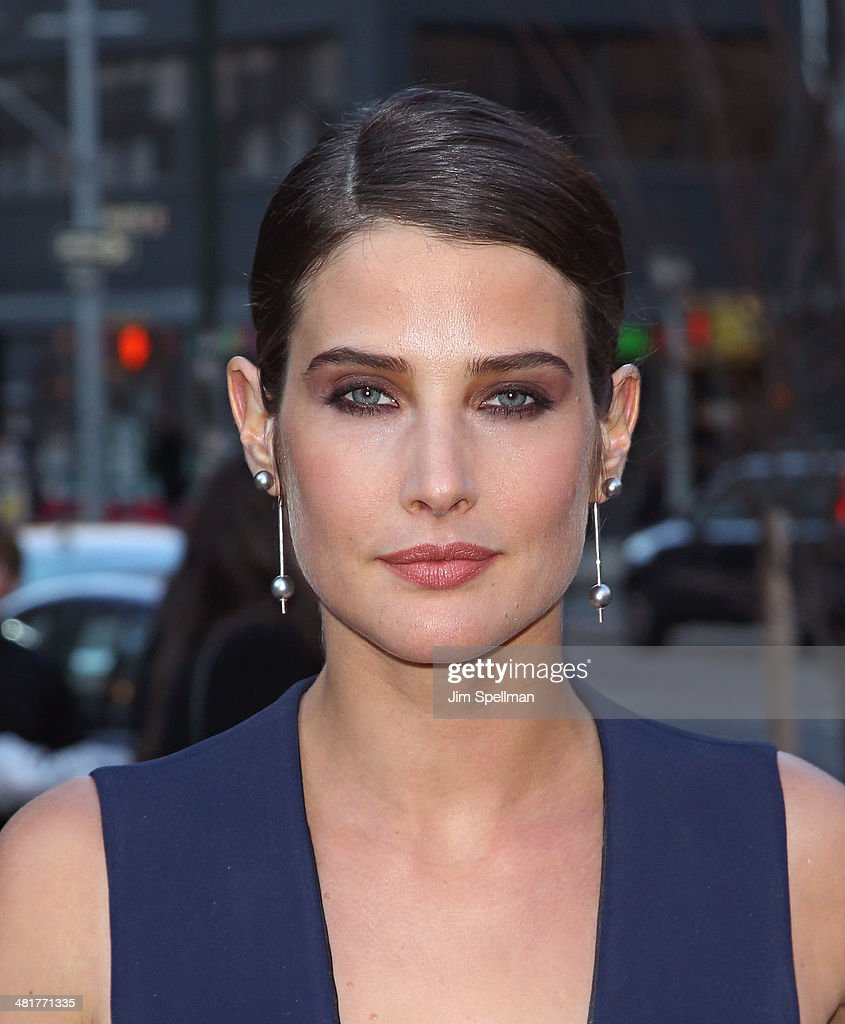 Actress <a gi-track='captionPersonalityLinkClicked' href=/galleries/search?phrase=Cobie+Smulders&family=editorial&specificpeople=739940 ng-click='$event.stopPropagation()'>Cobie Smulders</a> attends The Cinema Society Screening of 'Captain America: The Winter Soldier' Screening at Tribeca Grand Hotel on March 31, 2014 in New York City.