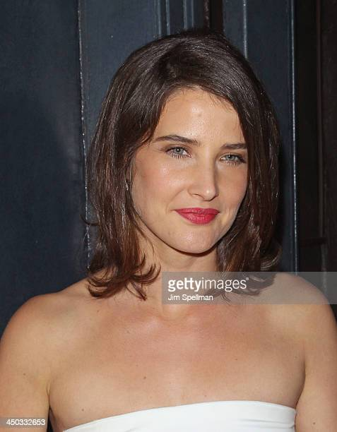 Actress Cobie Smulders attends the DreamWorks Pictures and The Cinema Society screening of 'Delivery Man' after party at Bill's Food and Drink...