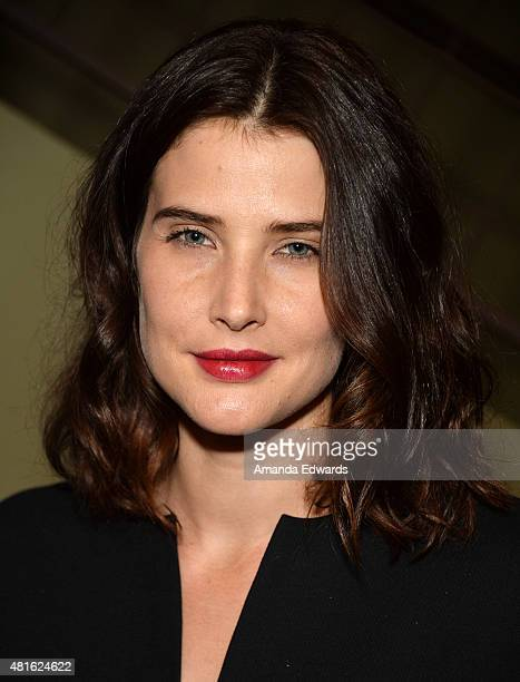 Actress Cobie Smulders attends the Los Angeles Times Indie Focus screening and cast QA of 'Unexpected' at the Sundance Sunset Cinema on July 22 2015...