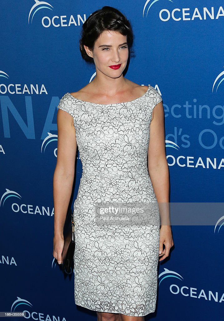 Actress <a gi-track='captionPersonalityLinkClicked' href=/galleries/search?phrase=Cobie+Smulders&family=editorial&specificpeople=739940 ng-click='$event.stopPropagation()'>Cobie Smulders</a> attends the Oceana Partners Award Gala at the Regent Beverly Wilshire Hotel on October 30, 2013 in Beverly Hills, California.