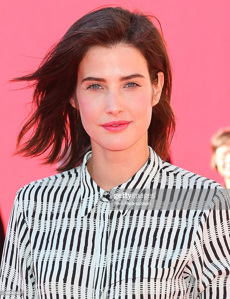 Actress <a gi-track='captionPersonalityLinkClicked' href=/galleries/search?phrase=Cobie+Smulders&family=editorial&specificpeople=739940 ng-click='$event.stopPropagation()'>Cobie Smulders</a> attends the premiere of 'The LEGO Movie' at Regency Village Theatre on February 1, 2014 in Westwood, California.