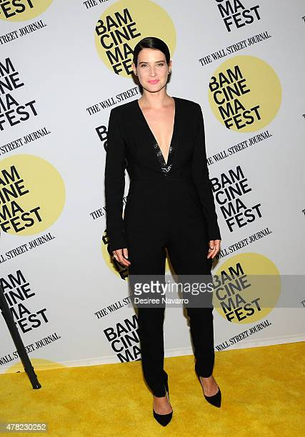 Actress Cobie Smulders attends the 'Unexpected' Premiere BAMcinemaFest 2015 at BAM Peter Jay Sharp Building on June 23 2015 in the Brooklyn borough...