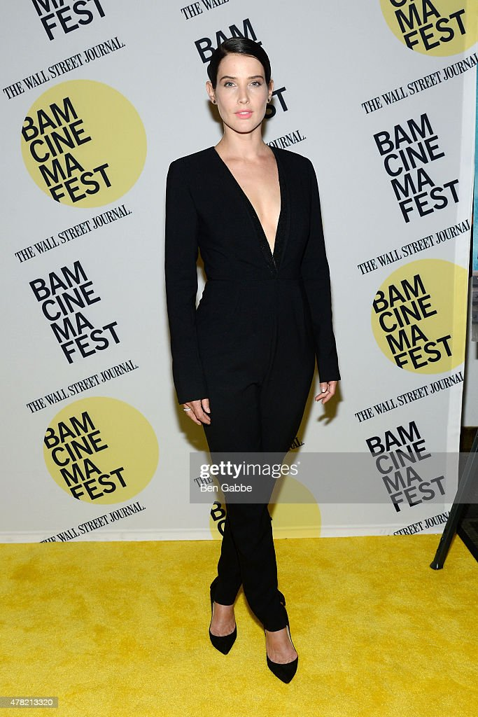 Actress <a gi-track='captionPersonalityLinkClicked' href=/galleries/search?phrase=Cobie+Smulders&family=editorial&specificpeople=739940 ng-click='$event.stopPropagation()'>Cobie Smulders</a> attends the 'Unexpected' premiere during BAMcinemaFest 2015 at the BAM Peter Jay Sharp Building on June 23, 2015 in New York City.