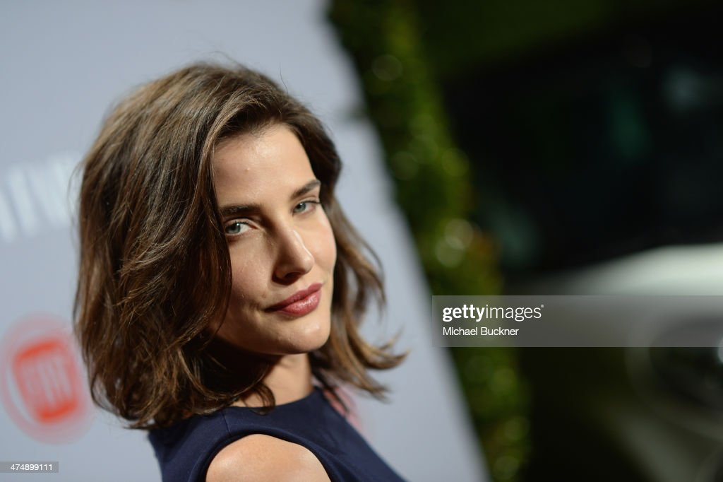 Actress <a gi-track='captionPersonalityLinkClicked' href=/galleries/search?phrase=Cobie+Smulders&family=editorial&specificpeople=739940 ng-click='$event.stopPropagation()'>Cobie Smulders</a> attends Vanity Fair and FIAT celebration of 'Young Hollywood' during Vanity Fair Campaign Hollywood at No Vacancy on February 25, 2014 in Los Angeles, California.
