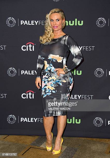 Actress Coco Austin attends 'An Evening with Dick Wolf with the stars of Law Order SVU Chicago Fire PD Med' at the The 33rd annual PaleyFest Los...