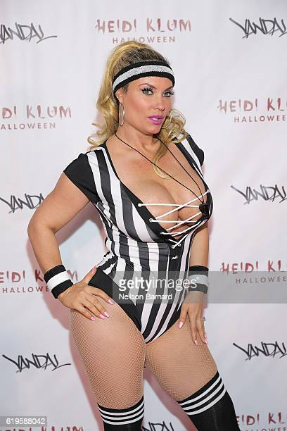 Actress Coco Austin attends Heidi Klum's 17th Annual Halloween Party sponsored by SVEDKA Vodka at Vandal on October 31 2016 in New York City