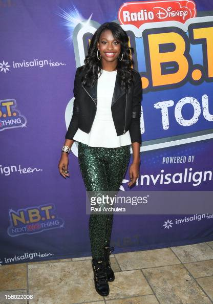Actress Coco Jones attends the Radio Disney's 'NBT' season five winner announcements at The Americana at Brand on December 8 2012 in Glendale...