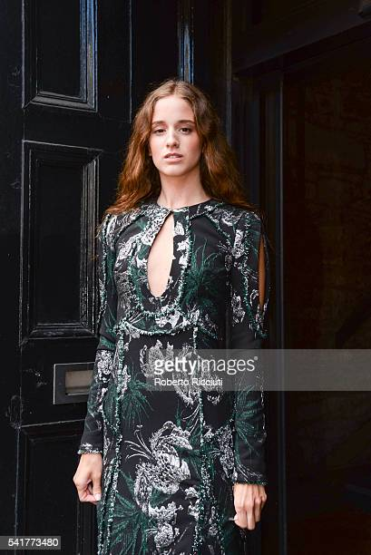 Actress Coco Konig attends the European Premiere of 'The Carer' at the 70th Edinburgh International Film Festival at Filmhouse on June 20 2016 in...