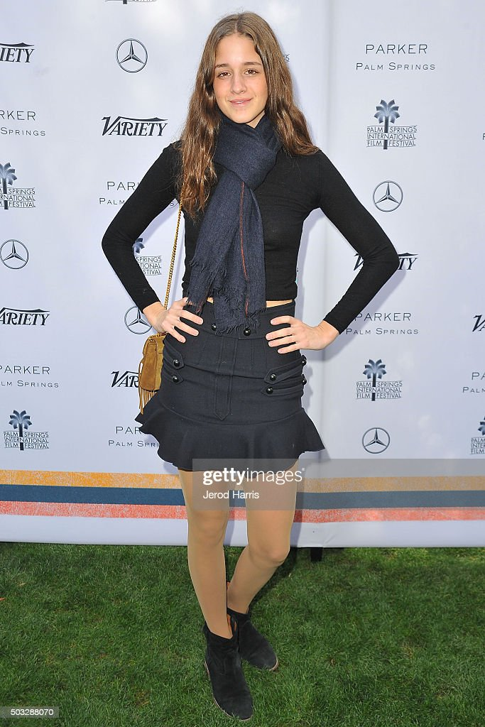 Actress Coco Konig attends Variety's Creative Impact Awards and 10 Directors To Watch Brunch at the Parker Palm Springs on January 3, 2016 in Palm Springs, California.