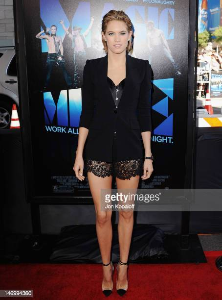 Actress Cody Horn arrives at the 'Magic Mike' Closing Night Premiere at the 2012 Los Angeles Film Festival at Regal Cinemas LA Live on June 24 2012...