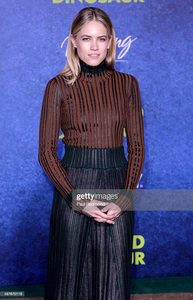 Actress Cody Horn arrives at the Premiere of DisneyPixar's 'The Good Dinosaur' on November 17 2015 in Hollywood California
