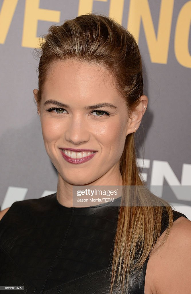 Actress Cody Horn arrives at the premiere of Open Road Films' 'End of Watch' at Regal Cinemas L.A. Live on September 17, 2012 in Los Angeles, California.