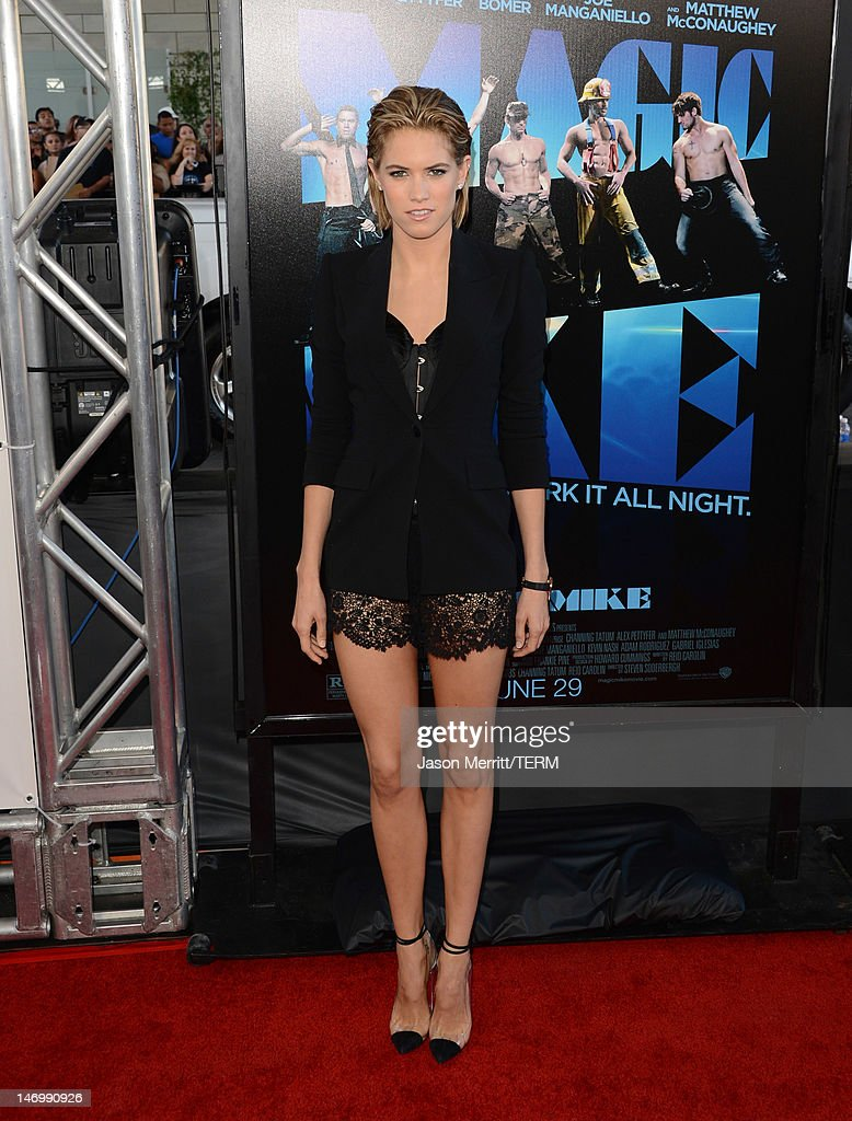 Actress Cody Horn arrives at the premiere of Warner Bros. Pictures' 'Magic Mike' during the 2012 Los Angeles Film Festival at Regal Cinemas L.A. Live on June 24, 2012 in Los Angeles, California.