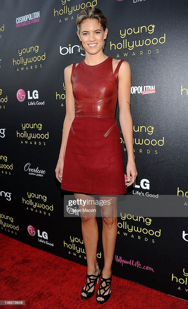 Actress Cody Horn arrives at the Young Hollywood Awards at Hollywood Athletic Club on June 14, 2012 in Hollywood, California.