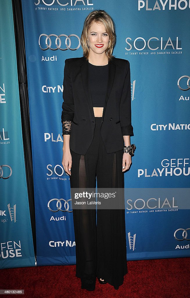 Actress <a gi-track='captionPersonalityLinkClicked' href=/galleries/search?phrase=Cody+Horn&family=editorial&specificpeople=607279 ng-click='$event.stopPropagation()'>Cody Horn</a> attends the Backstage at the Geffen annual fundraiser at Geffen Playhouse on March 22, 2014 in Los Angeles, California.