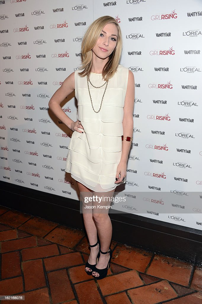 Actress Cody Kennedy attends Vanity Fair and L'Oréal Paris-hosted D.J. Night with Freida Pinto in support of 10 x 10 and 'Girl Rising' at Teddy's at The Hollywood Roosevelt Hotel on February 19, 2013 in Los Angeles, California.