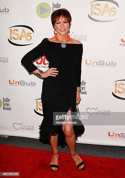 Actress Colleen Zenk arrives at the 5th Annual Indie Series Awards at El Portal Theatre on April 2 2014 in North Hollywood California