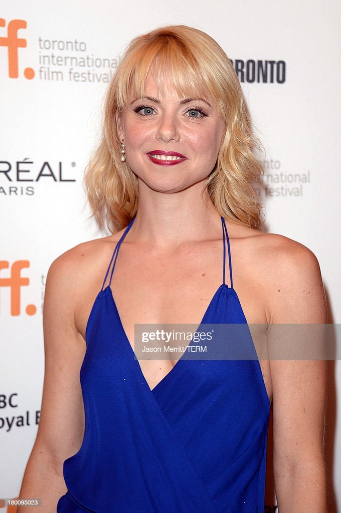 Actress <a gi-track='captionPersonalityLinkClicked' href=/galleries/search?phrase=Collette+Wolfe&family=editorial&specificpeople=4531760 ng-click='$event.stopPropagation()'>Collette Wolfe</a> attends 'The Devil's Knot' premiere during the 2013 Toronto International Film Festival at The Elgin on September 8, 2013 in Toronto, Canada.